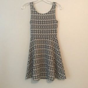 Divided by H&M pattern dress